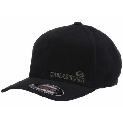 クイックシルバー 帽子 アクセサリー メンズ Sidestay Black