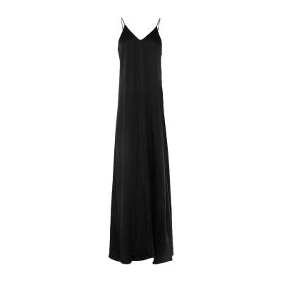 フォルテ フォルテ FORTE_FORTE ロングワンピース&ドレス ブラック 2 アセテート 70% / レーヨン 30% ロングワンピース&ドレス