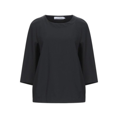 EUROPEAN CULTURE ブラウス ファッション  レディースファッション  トップス  シャツ、ブラウス  長袖 ブラック