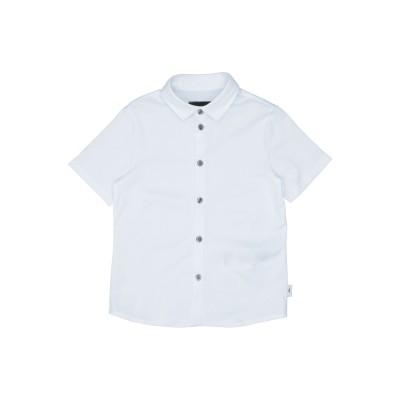 エンポリオ アルマーニ EMPORIO ARMANI シャツ ホワイト 4 コットン 100% シャツ