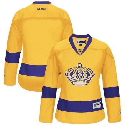リーボック レディース Tシャツ トップス Los Angeles Kings Reebok Women's Premier Alternate Jersey