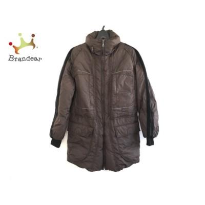 マリテフランソワジルボー ダウンジャケット サイズM メンズ ダークブラウン×黒 冬物   スペシャル特価 20210302