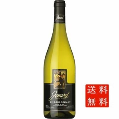 母の日 ギフト 送料無料 白ワイン ジュナール シャルドネ / ジャンジャン 白 750ml 12本 フランス ラングドック・ルーション ケース販売