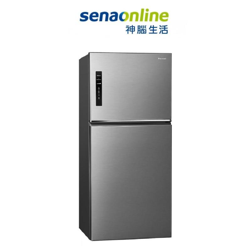 Panasonic 國際 NR-B651TV 650L無邊框鋼板變頻雙門冰箱 至8/17止贈不沾深炒鍋