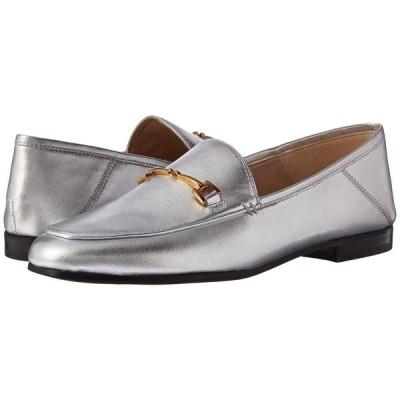 サム エデルマン Sam Edelman レディース ローファー・オックスフォード シューズ・靴 Loraine Loafer Silver Soft Metallic Sheep Leather