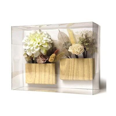 アンティーク風 花飾り 17点セット 緑 白 ダリア アジサイ 金 葉 カスミソウ 薄紫 薔 薇 ラグラス
