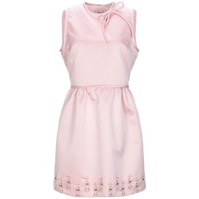 エムエスジーエム MSGM ミニワンピース&ドレス ピンク 44 ポリエステル 100% ミニワンピース&ドレス