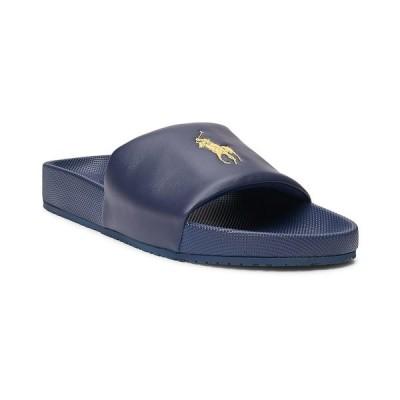 ラルフローレン サンダル シューズ メンズ Men's Cayson Pony Slide Sandal Navy