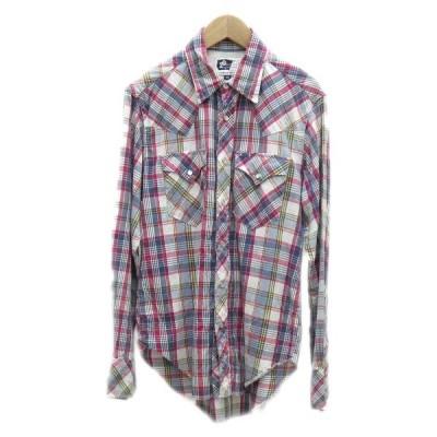 Engineered Garments チェックウエスタンシャツ レッド サイズ:XS (堅田店) 200502