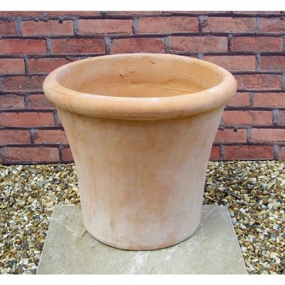 ☆11月6日再入荷☆ 植木鉢 ルーブン L39 テラコッタ 人気のベトナム鉢 おしゃれ 大型 陶器鉢 素焼き鉢 園芸 ガーデニング 95724