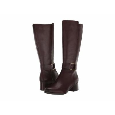 ナチュライザー ブーツ&レインブーツ シューズ レディース Daelynn Wide Calf Chocolate Leather