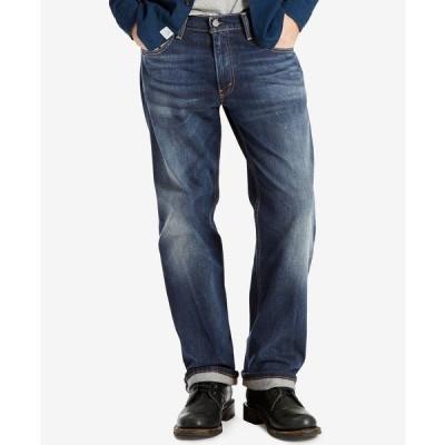 リーバイス デニムパンツ ボトムス メンズ Men's 569 Loose Straight Fit Jeans Crosstown Stretch - Waterless