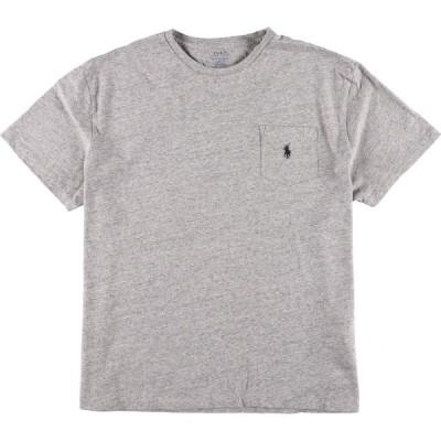 ラルフローレン Ralph Lauren POLO RALPH LAUREN 半袖 ワンポイントロゴポケットTシャツ メンズXL /eaa160158
