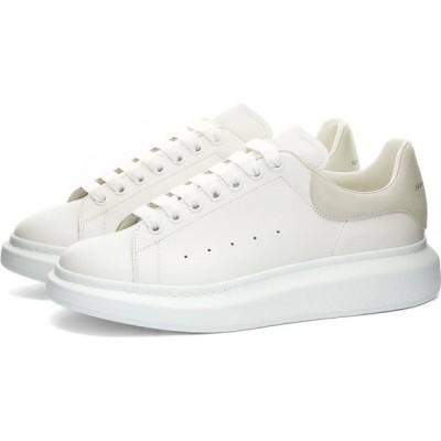 アレキサンダー マックイーン Alexander McQueen メンズ スニーカー ウェッジソール シューズ・靴 Heel Tab Wedge Sole Sneaker White/Grey