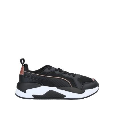 プーマ PUMA スニーカー&テニスシューズ(ローカット) ブラック 3.5 紡績繊維 スニーカー&テニスシューズ(ローカット)