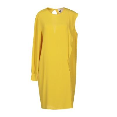 8PM ミニワンピース&ドレス イエロー XXS アセテート 60% / シルク 40% ミニワンピース&ドレス