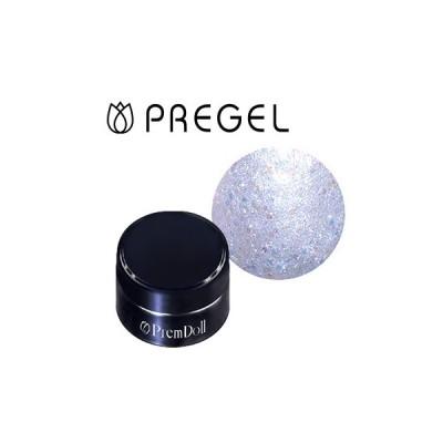 ジェルネイル セルフ カラージェル プリジェル PREGEL プリムドール ブライスコラボレーション DOLL-B14 氷のお城 3g