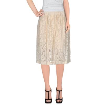 メルシー ..,MERCI ひざ丈スカート アイボリー XS ナイロン 59% / コットン 41% ひざ丈スカート