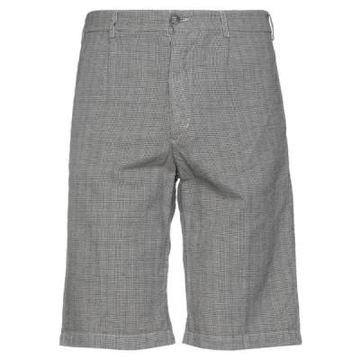 40WEFT ショートパンツ&バミューダパンツ  メンズファッション  ボトムス、パンツ  ショート、ハーフパンツ ブラック