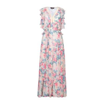MY TWIN TWINSET ロングワンピース&ドレス ベージュ XS ポリエステル 100% ロングワンピース&ドレス