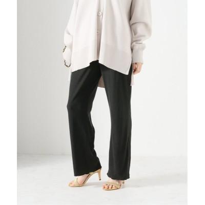 【イエナ】 Noil silk リラックスパンツ レディース グレー フリー IENA