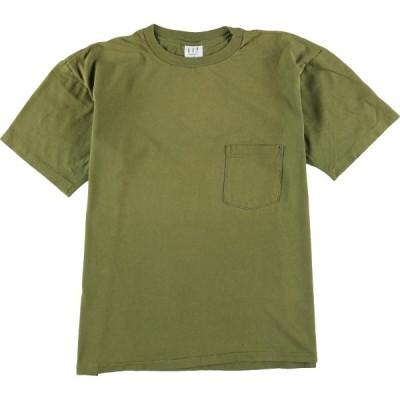 90年代 ギャップ GAP ポケットTシャツ USA製 メンズL /eaa056709