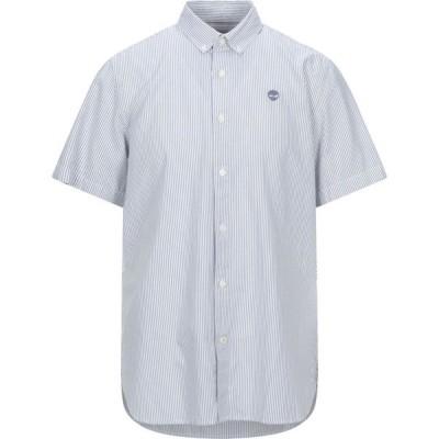 ティンバーランド TIMBERLAND メンズ シャツ トップス Striped Shirt Blue