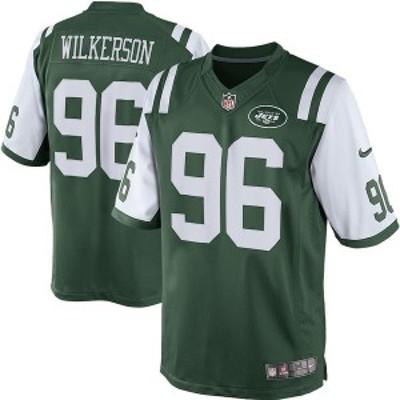 ナイキ メンズ Tシャツ トップス Muhammad Wilkerson New York Jets Nike Team Color Limited Jersey Green