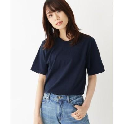 OPAQUE.CLIP/オペーク ドット クリップ ゆったりシルエットロングTシャツ ネイビー(093) 99