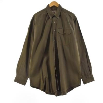 ウールリッチ WOOLRICH 長袖 コットンチェックシャツ メンズXL /eaa158432