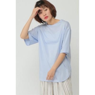 シルケット天竺5分袖Tシャツ