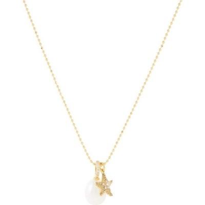 ケイト スペード Kate Spade New York レディース ネックレス チャーム ジュエリー・アクセサリー Sea Star Charm Pendant Necklace Cream Multi