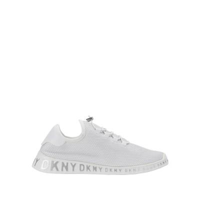 DKNY スニーカー&テニスシューズ(ローカット) ライトグレー 9.5 紡績繊維 スニーカー&テニスシューズ(ローカット)