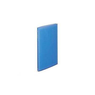 リヒトラブ LIHIT LAB. G3132-8 リクエスト 透明クリヤーブック B4L・S型 8ブルー【1冊】