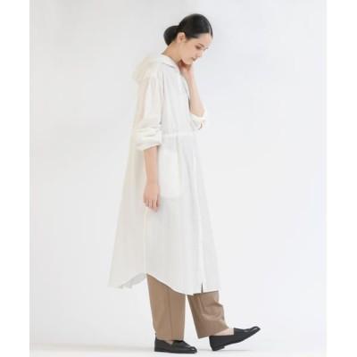 Pao・de・lo/パオデロ 東炊きシャツワンピース羽織 オフホワイト 7号