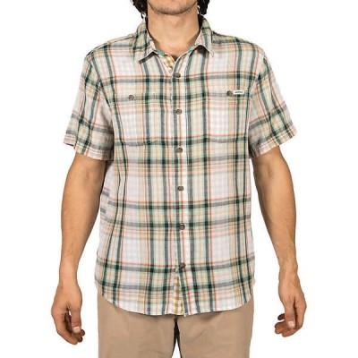 グラミチ シャツ メンズ トップス Gramicci Men's Santa Monica SS Shirt Sage Green
