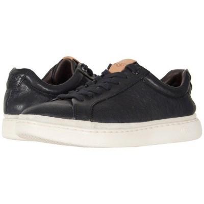 アグ スニーカー シューズ メンズ Brecken Lace Low Black Leather