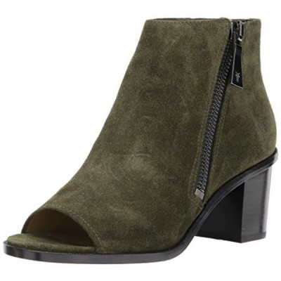 フライ レディース ブーツ FRYE Women's Brielle Zip Peep Bootie Boot