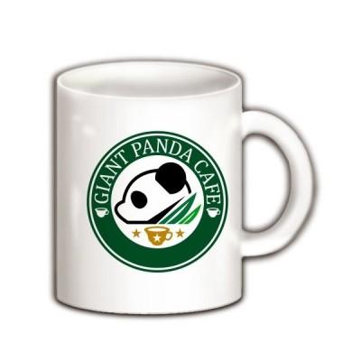 ジャイアントパンダ・カフェ マグカップ(ホワイト)