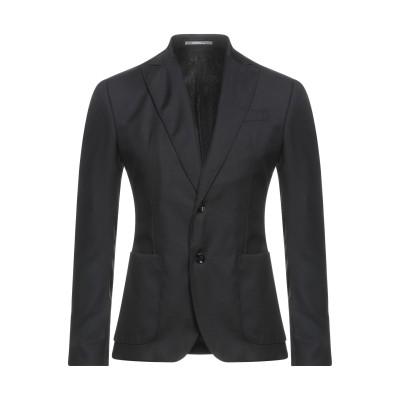 HAVANA & CO. テーラードジャケット ブラック 48 バージンウール 98% / ポリウレタン® 2% テーラードジャケット