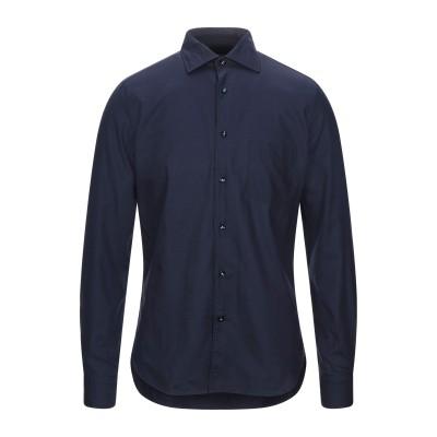 BORSA シャツ ダークパープル 40 コットン 100% シャツ