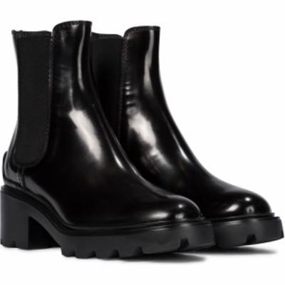 トッズ Tods レディース ブーツ チェルシーブーツ シューズ・靴 patent leather chelsea boots Nero