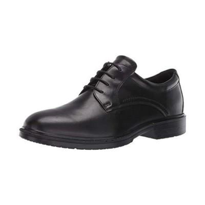 ECCO Men's Maitland Plain Toe Tie Oxford, Black, 1010.5