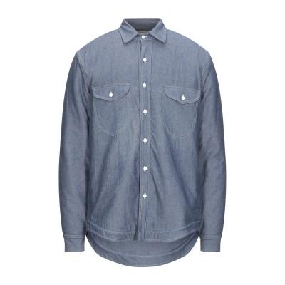 エルマノ ガラミーニ ERMANNO GALLAMINI シャツ ブルー S コットン 100% シャツ