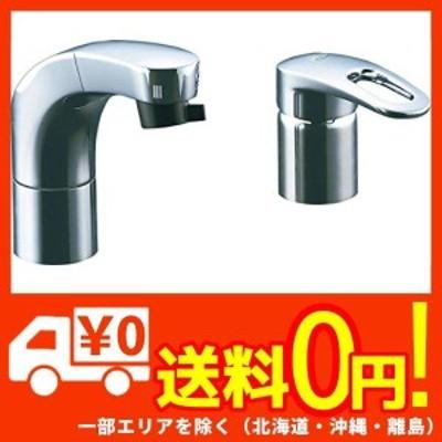 LIXIL(リクシル) INAX ホース引出式シングルレバー混合水栓 エコハンドル フルメッキタイプ エコハンドル 小型