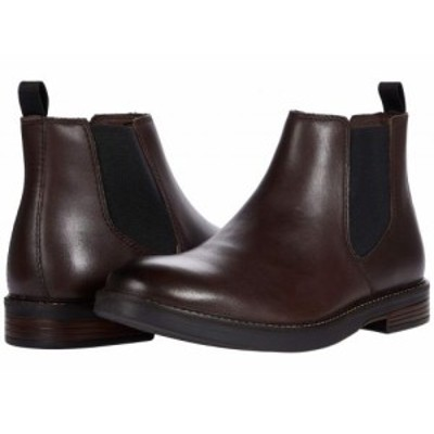 Clarks クラークス メンズ 男性用 シューズ 靴 ブーツ チェルシーブーツ Paulson Up Dark Brown Leather【送料無料】