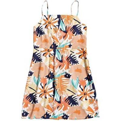 ロキシー レディース ワンピース トップス Roxy Women's Sunny Weather Dress Peach Blush Bright Skies