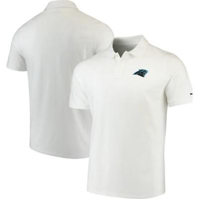 カロライナ・パンサーズ Vineyard Vines Stretch Pique ポロシャツ - White