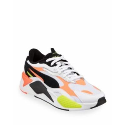 プーマ メンズ スニーカー シューズ Men's RS-X Lava Blast Runner Sneakers WHITE