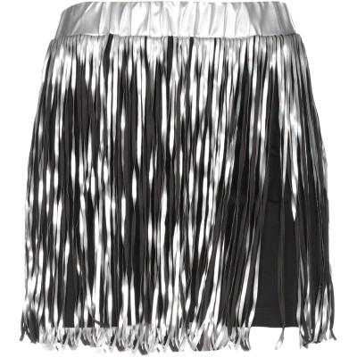 LE VOLIÈRE ミニスカート ブラック M コットン 95% / ポリウレタン 5% ミニスカート
